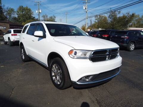 2017 Dodge Durango for sale at RS Motors in Falconer NY