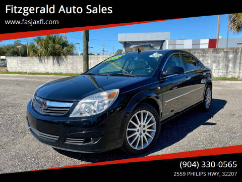 2007 Saturn Aura for sale at Fitzgerald Auto Sales in Jacksonville FL