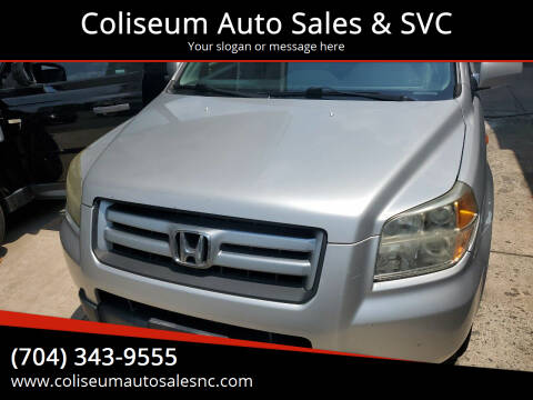 2006 Honda Pilot for sale at Coliseum Auto Sales & SVC in Charlotte NC