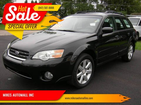2007 Subaru Outback for sale at MIKES AUTOMALL INC in Ingleside IL