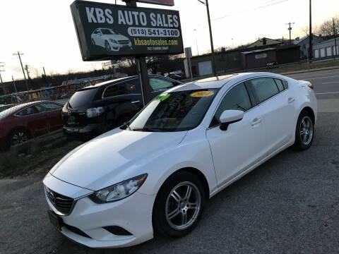 2014 Mazda MAZDA6 for sale at KBS Auto Sales in Cincinnati OH