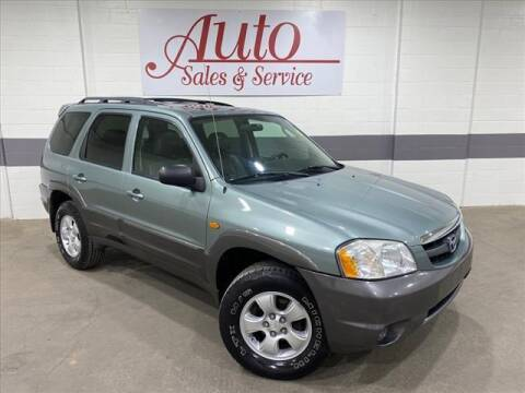 2004 Mazda Tribute for sale at Auto Sales & Service Wholesale in Indianapolis IN