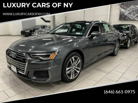 2019 Audi A6 for sale at LUXURY CARS OF NY in Queens NY