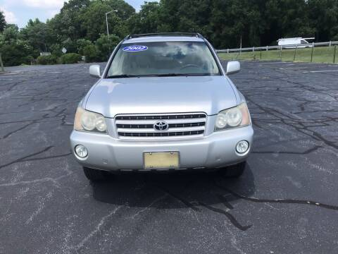 2002 Toyota Highlander for sale at Speed Auto Mall in Greensboro NC