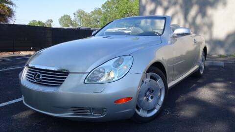 2002 Lexus SC 430 for sale at Precision Auto Source in Jacksonville FL