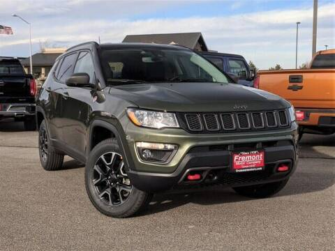 2021 Jeep Compass for sale at Rocky Mountain Commercial Trucks in Casper WY