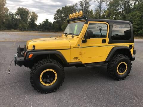 2006 Jeep Wrangler for sale at Augusta Auto Sales in Waynesboro VA