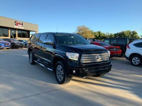 2017 Toyota Tundra for sale at KIAN MOTORS INC in Plano TX