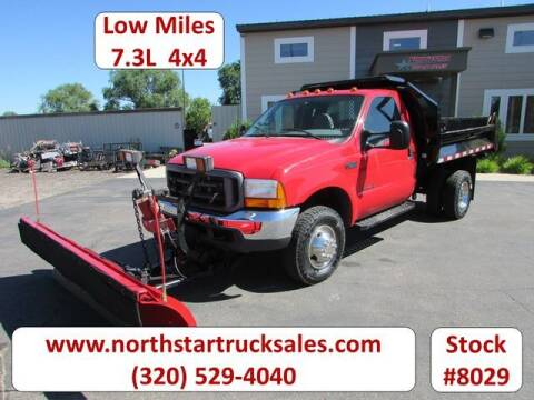 2000 Ford F-350 Super Duty for sale at NorthStar Truck Sales in St Cloud MN
