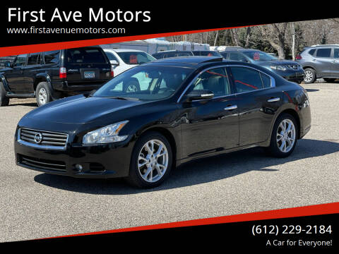 2014 Nissan Maxima for sale at First Ave Motors in Shakopee MN
