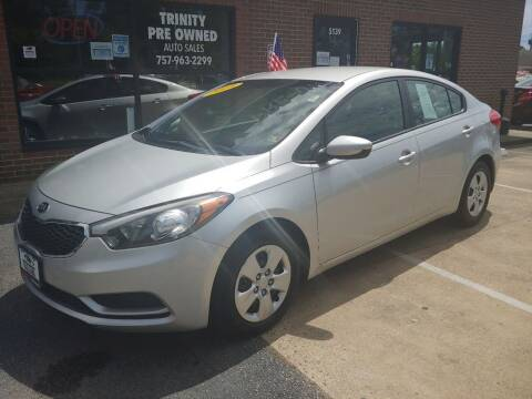 2015 Kia Forte for sale at Bankruptcy Car Financing in Norfolk VA