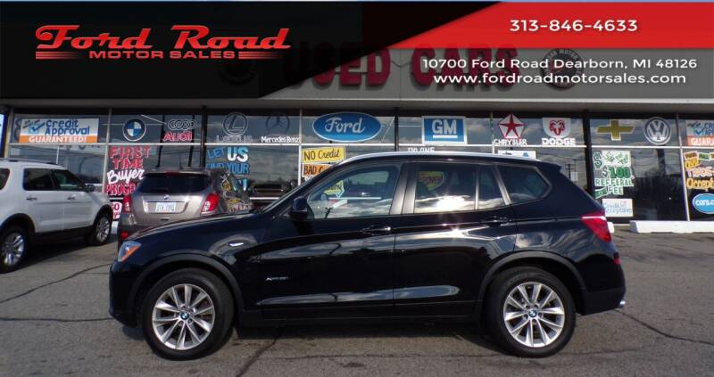 2017 BMW X3 for sale at Ford Road Motor Sales in Dearborn MI