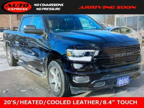 2020 RAM Ram Pickup 1500 for sale at Auto Express in Lafayette IN