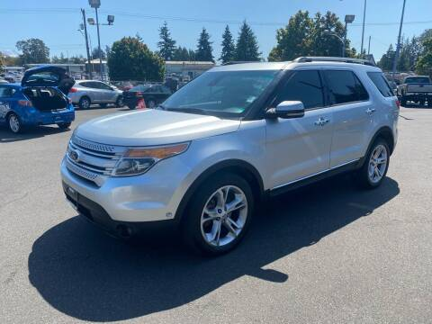 2013 Ford Explorer for sale at Vista Auto Sales in Lakewood WA