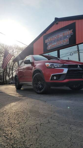 2017 Mitsubishi Outlander Sport for sale at Harborcreek Auto Gallery in Harborcreek PA