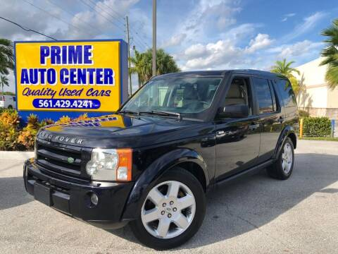 2009 Land Rover LR3 for sale at PRIME AUTO CENTER in Palm Springs FL