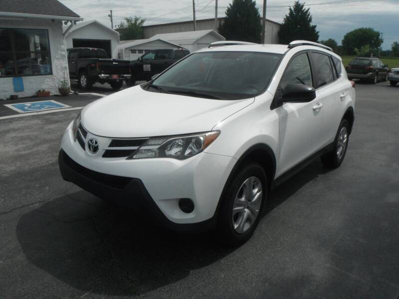 2014 Toyota RAV4 for sale at Morelock Motors INC in Maryville TN