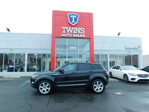 2012 Land Rover Range Rover Evoque for sale at Twins Auto Sales Inc Redford 1 in Redford MI