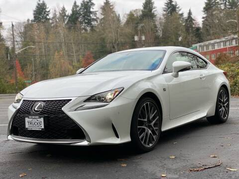 2017 Lexus RC 200t for sale at Trucks Plus in Seattle WA
