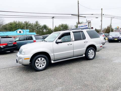 2006 Mercury Mountaineer for sale at New Wave Auto of Vineland in Vineland NJ