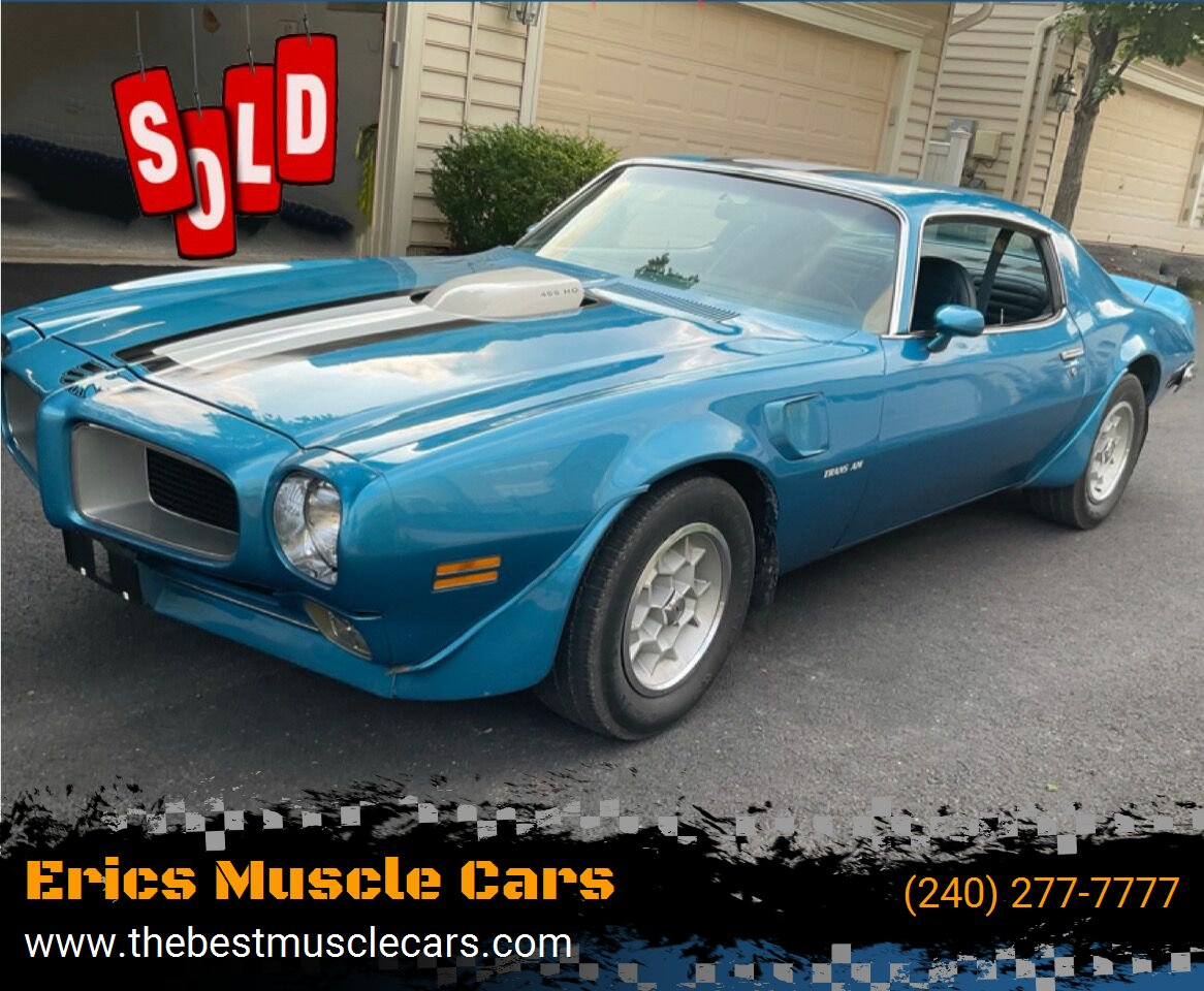 1971 Pontiac Trans Am  SOLD SOLD SOLD
