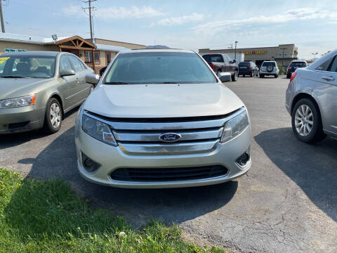 2010 Ford Fusion Hybrid for sale at Creekside Auto Sales in Pocatello ID