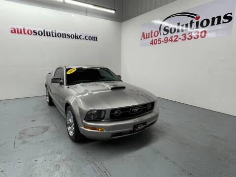 2008 Ford Mustang for sale at Auto Solutions in Warr Acres OK