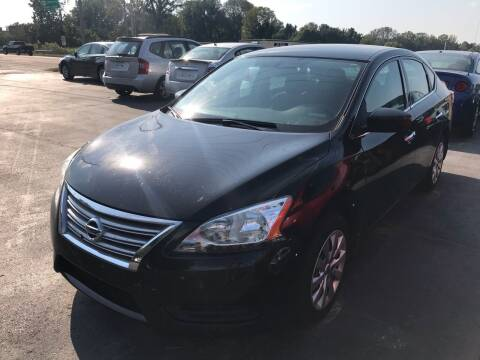 2015 Nissan Sentra for sale at Sartins Auto Sales in Dyersburg TN