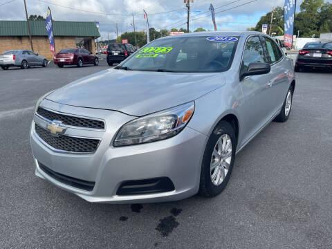 2013 Chevrolet Malibu for sale at Cars for Less in Phenix City AL