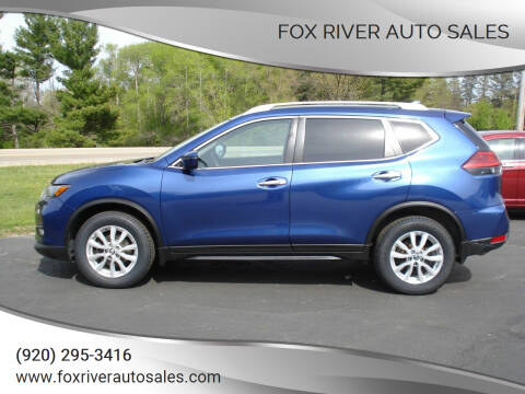 2017 Nissan Rogue for sale at Fox River Auto Sales in Princeton WI