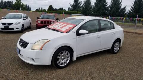 2008 Nissan Sentra for sale at McMinnville Auto Sales LLC in Mcminnville OR