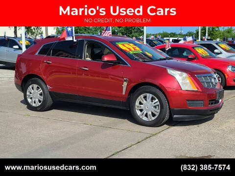 2012 Cadillac SRX for sale at Mario's Used Cars in Houston TX