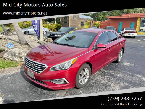 2015 Hyundai Sonata for sale at Mid City Motors Auto Sales in Fort Myers FL