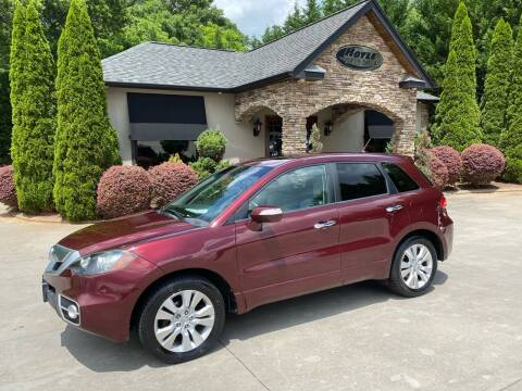 2011 Acura RDX for sale at Hoyle Auto Sales in Taylorsville NC
