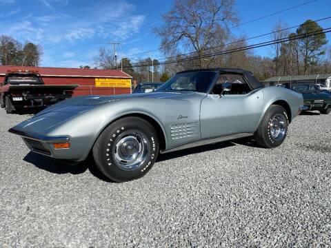 1970 Chevrolet Corvette for sale at F & A Corvette in Colonial Beach VA