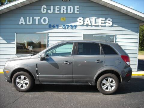 2008 Saturn Vue for sale at GJERDE AUTO SALES in Detroit Lakes MN