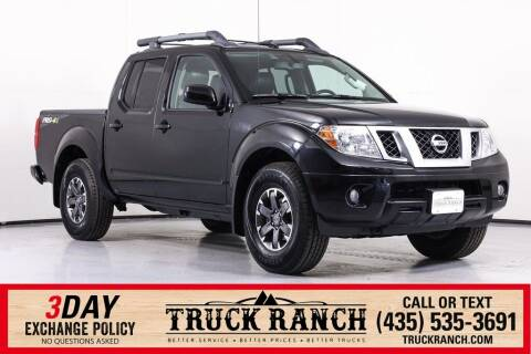 2016 Nissan Frontier for sale at Truck Ranch in Logan UT