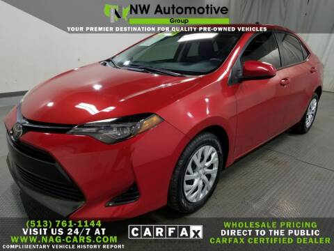 2019 Toyota Corolla for sale at NW Automotive Group in Cincinnati OH