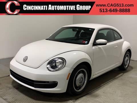 2012 Volkswagen Beetle for sale at Cincinnati Automotive Group in Lebanon OH