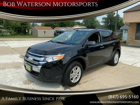 2012 Ford Edge for sale at Bob Waterson Motorsports in South Elgin IL