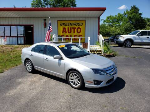 2010 Ford Fusion for sale at Greenwood Auto Sales in Greenwood AR
