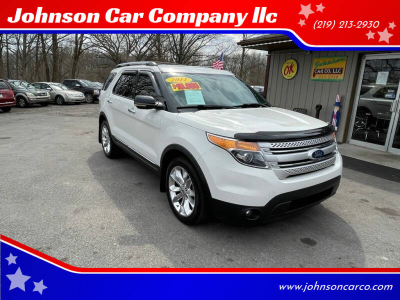 2011 Ford Explorer for sale at Johnson Car Company llc in Crown Point IN