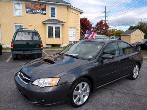 2007 Subaru Legacy for sale at Top Gear Motors in Winchester VA