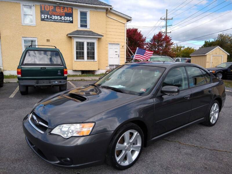 2007 Subaru Legacy for sale at Top Gear Motors in Winchester VA