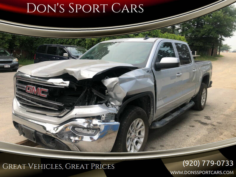 2018 GMC Sierra 1500 for sale at Don's Sport Cars in Hortonville WI