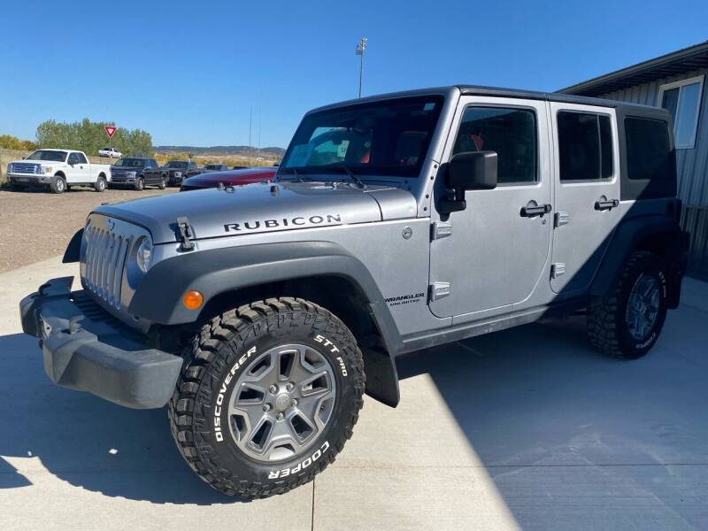 2015 Jeep Wrangler Unlimited for sale at FAST LANE AUTOS in Spearfish SD