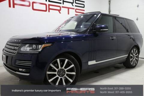 2015 Land Rover Range Rover for sale at Fishers Imports in Fishers IN