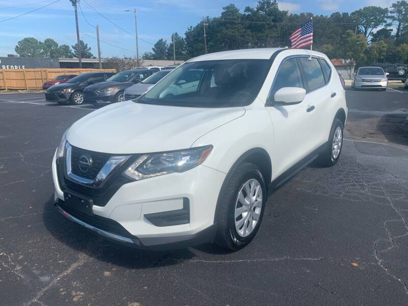 2018 Nissan Rogue for sale at Sun Coast City Auto Sales in Mobile AL