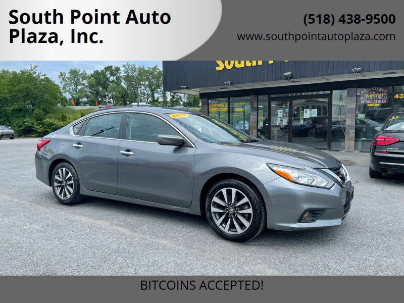 2017 Nissan Altima for sale at South Point Auto Plaza, Inc. in Albany NY
