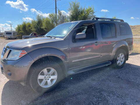 2008 Nissan Pathfinder for sale at PYRAMID MOTORS - Fountain Lot in Fountain CO